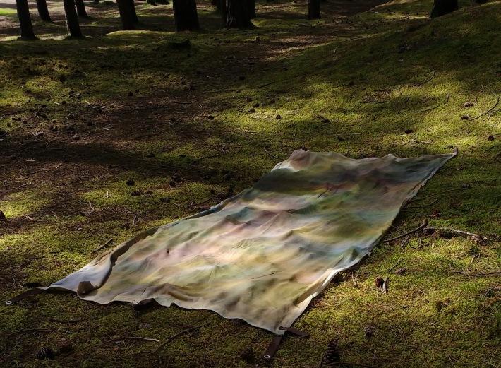 Camping_Painting_Roseisle_Dunes_2